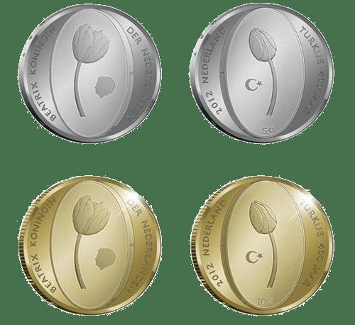 тюльпаны монета