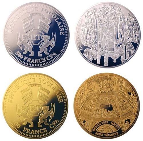 Ватиканские монеты периода «Sede Vacante»