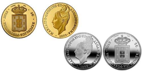 5 евро, Португалия degolada (Cu-Ni)