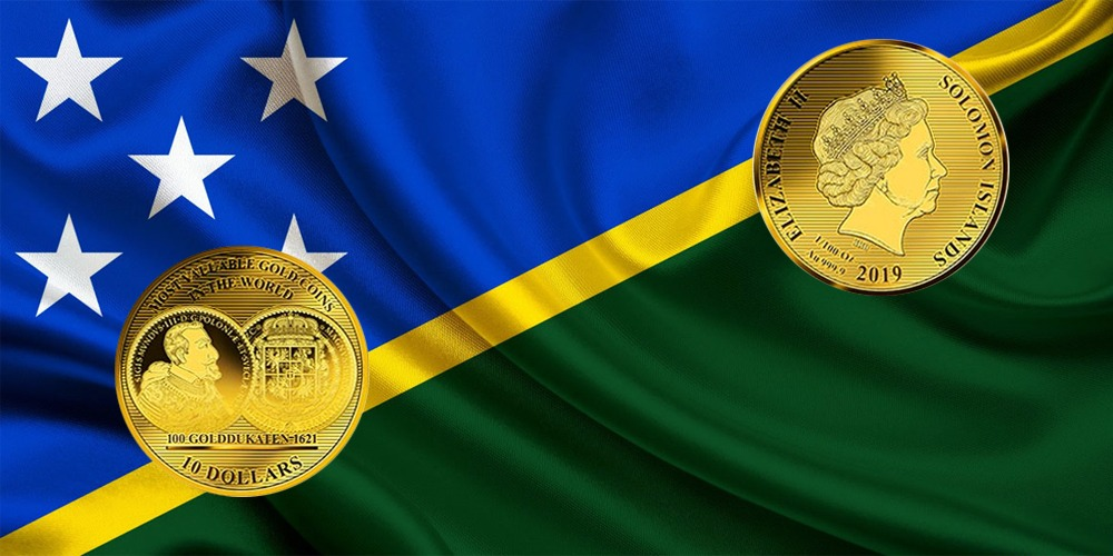 100 дукатов Соломоновы острова