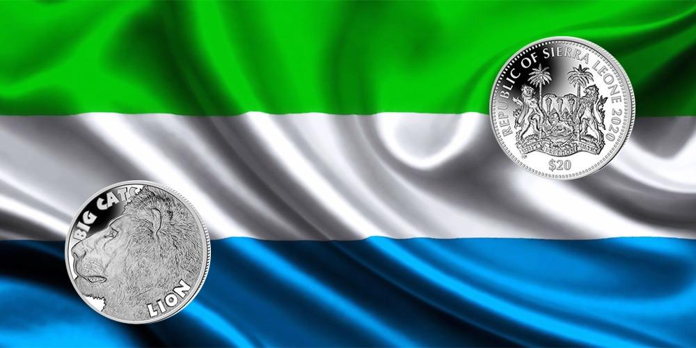 Лев Сьерра-Леоне