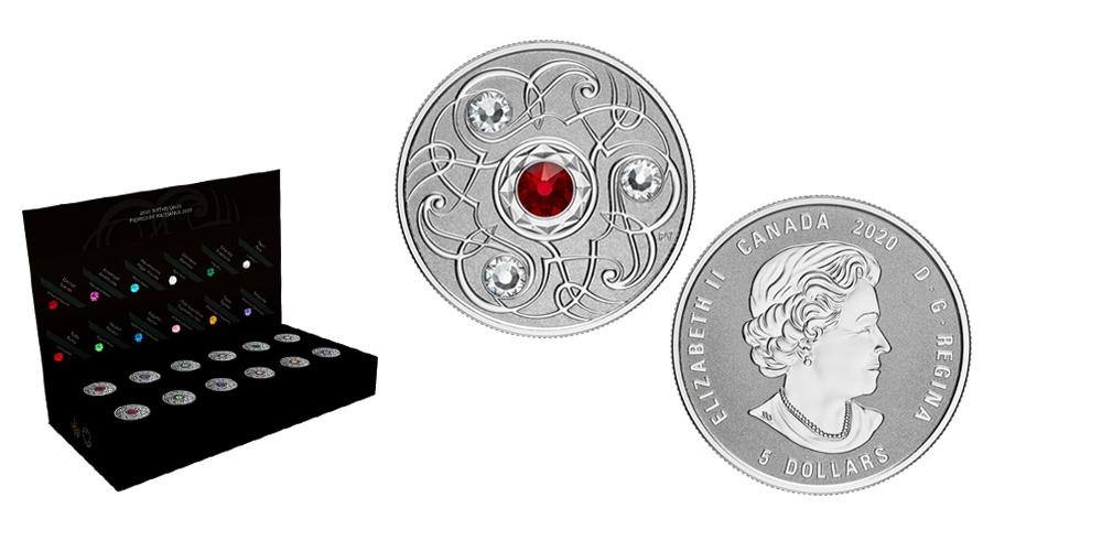 Монеты к дню рождения от Канады (1)