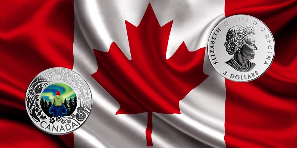 Северное сияние Канада