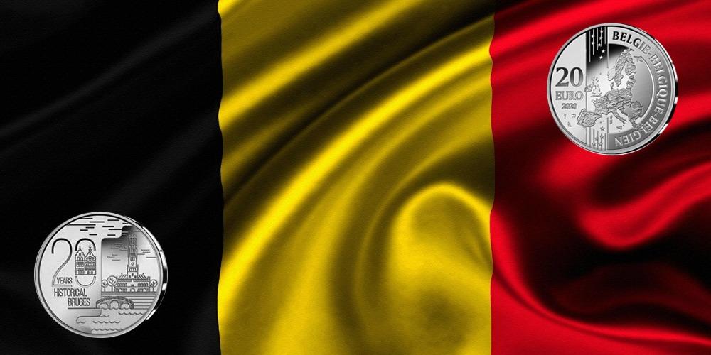 Брюгге Бельгия 2020
