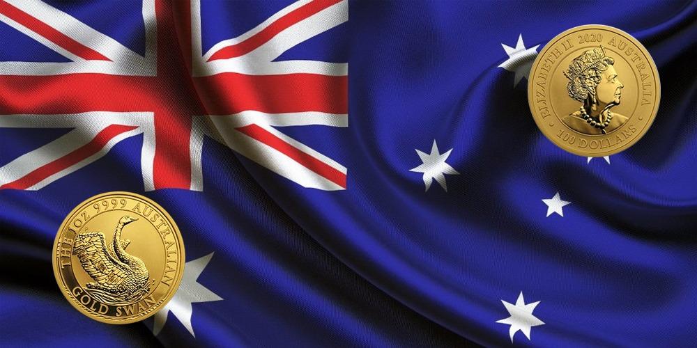Лебедь Австралия