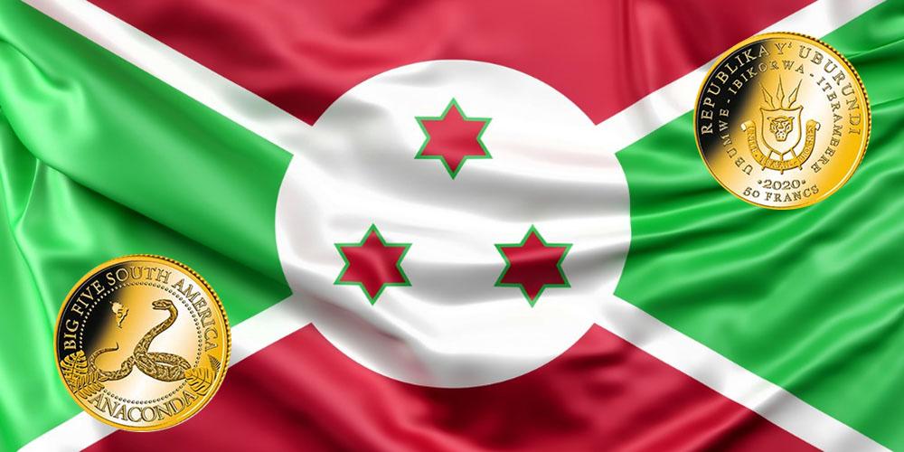 Анаконда Бурунди