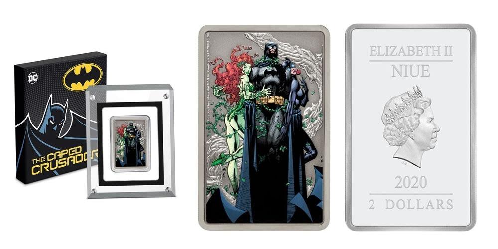 Бэтмен Женщина-Кошка и Ядовитый плющ Ниуэ