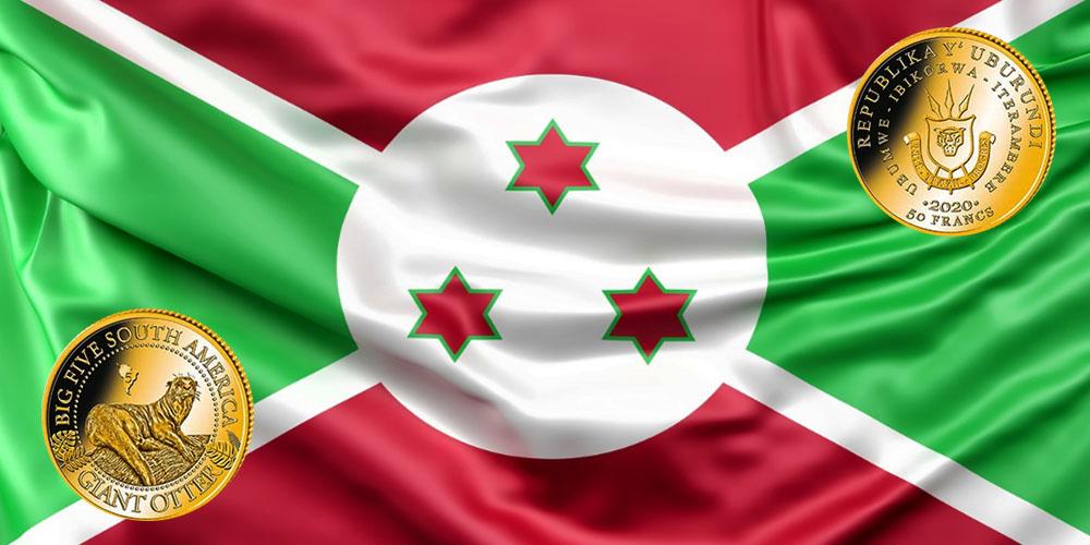 Бразильская выдра Бурунди