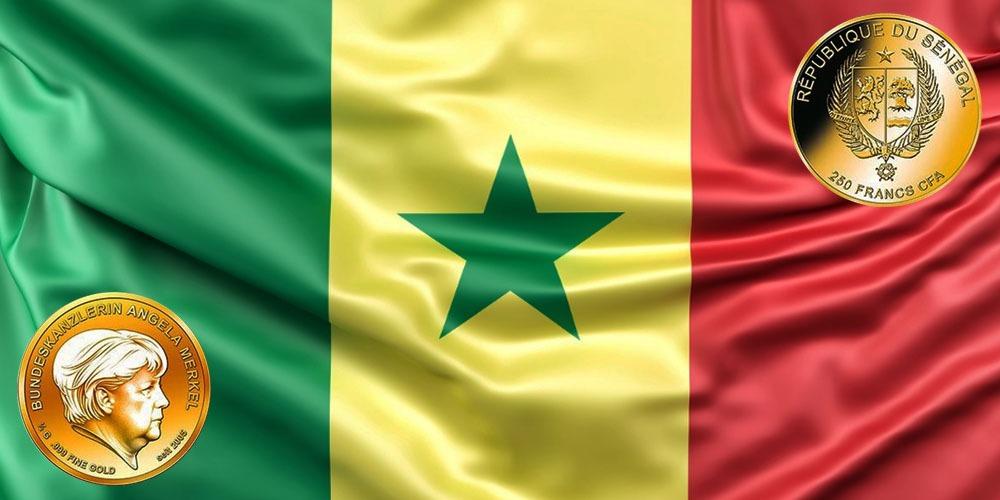 Ангела Меркель Республика Сенегал