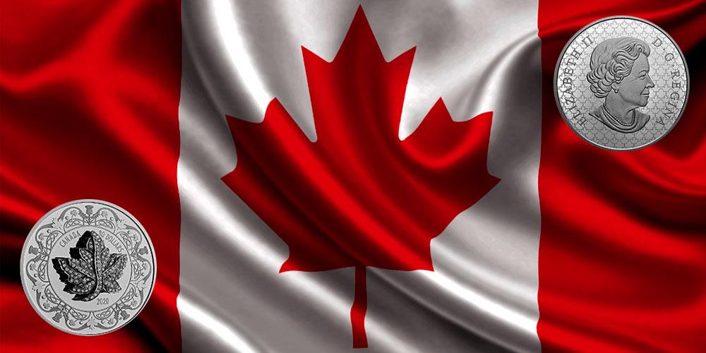 Брошь королевы Елизаветы II Канада