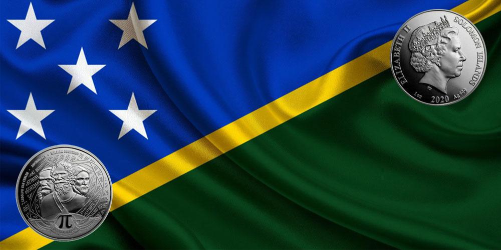 Число ПИ Соломоновы острова