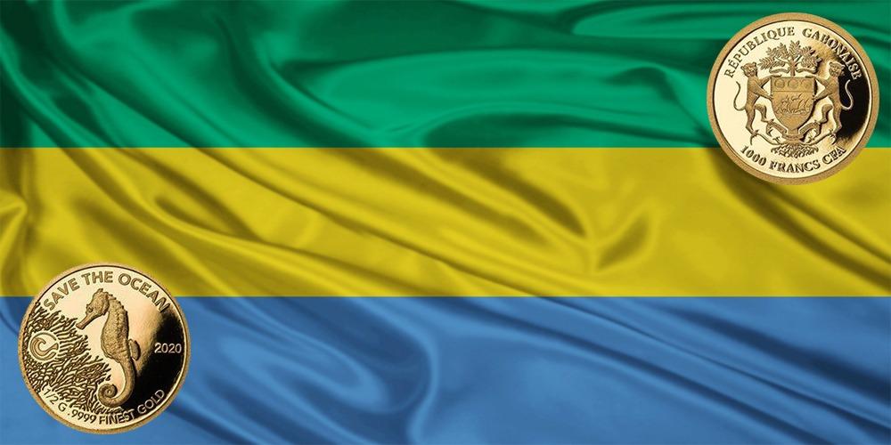 Морской конек Республика Габон