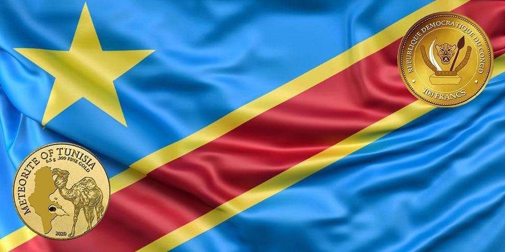 Тунисский метеорит Республика Конго