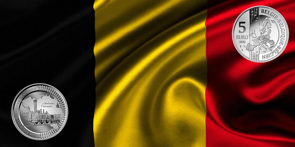 Юбилей железной дороги Бельгия
