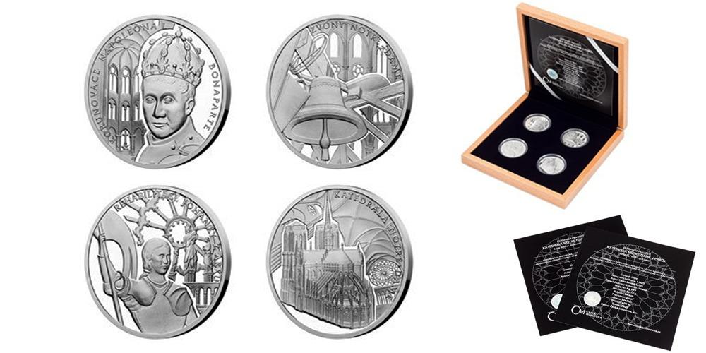 Cерия монет Кафедральный собор Нотр-Дам Ниуэ