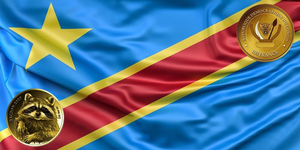 Енот-полоскун Конго 2020