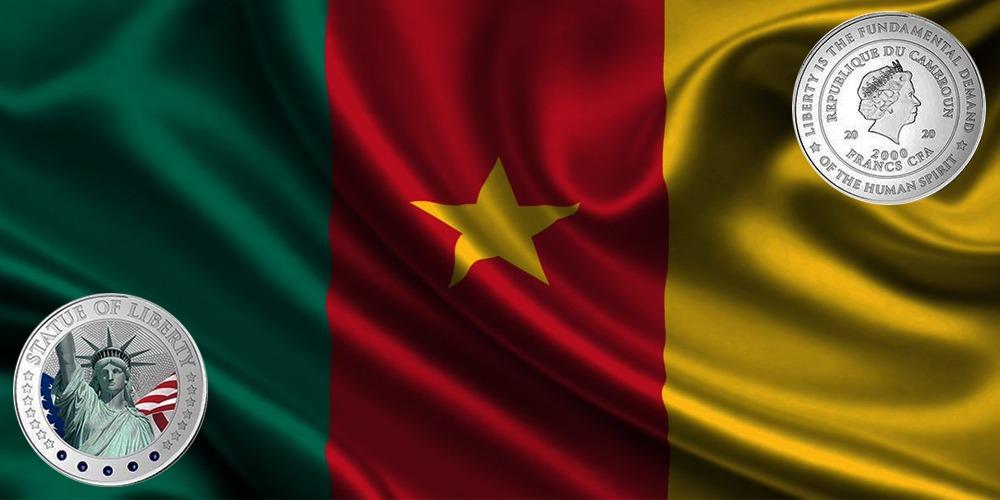 Статуя Свободы Камерун 2020