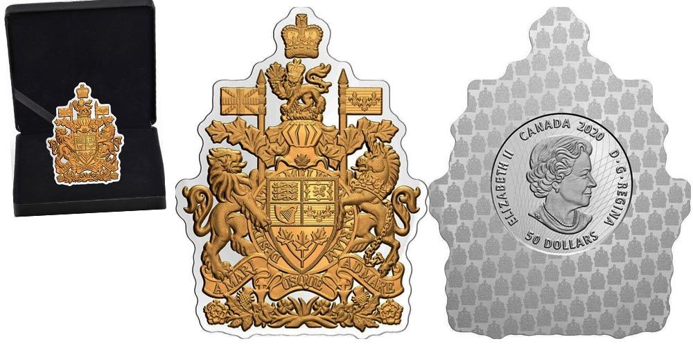 Канадский герб 1994 года Канада 2020