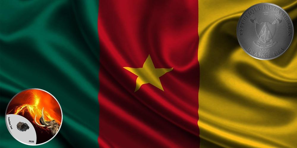 Вулкан Огненные горы Камерун 2020