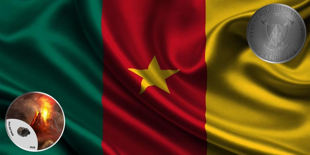 Вулкан Пико-дель-Тейде Камерун 2020