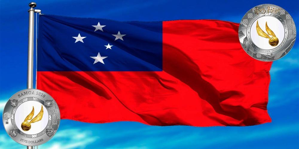 Золотой снитч Самоа 2020