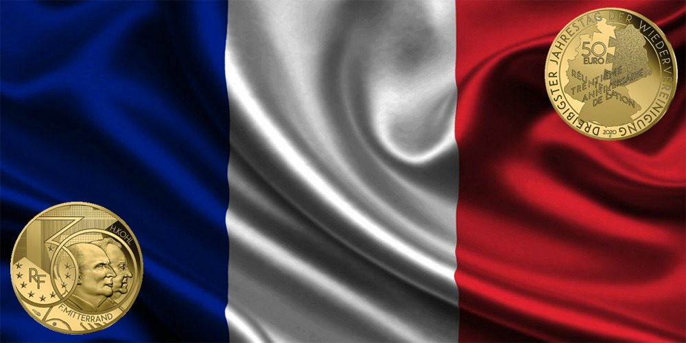 Гельмут Коль и Франсуа Миттеран Франция 2020