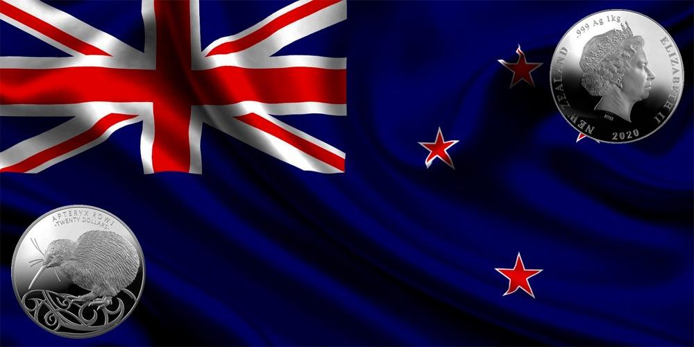 Птица Киви Новая Зеландия 2020