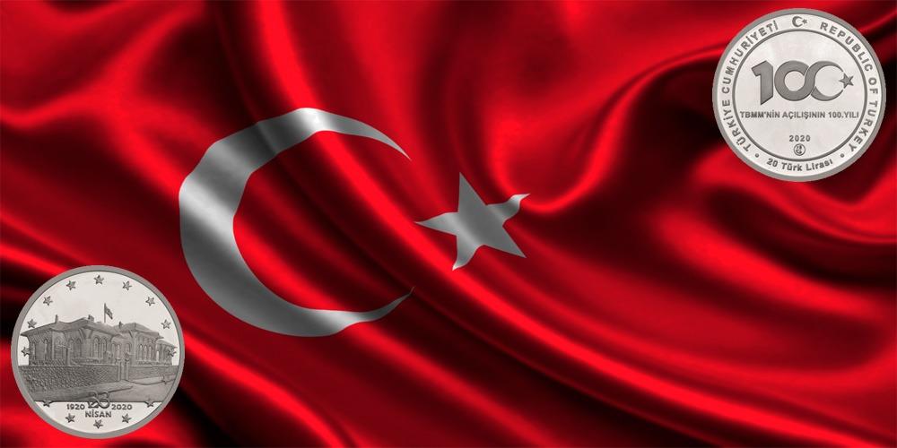 100-летию открытия Великого национального собрания Турции 2020