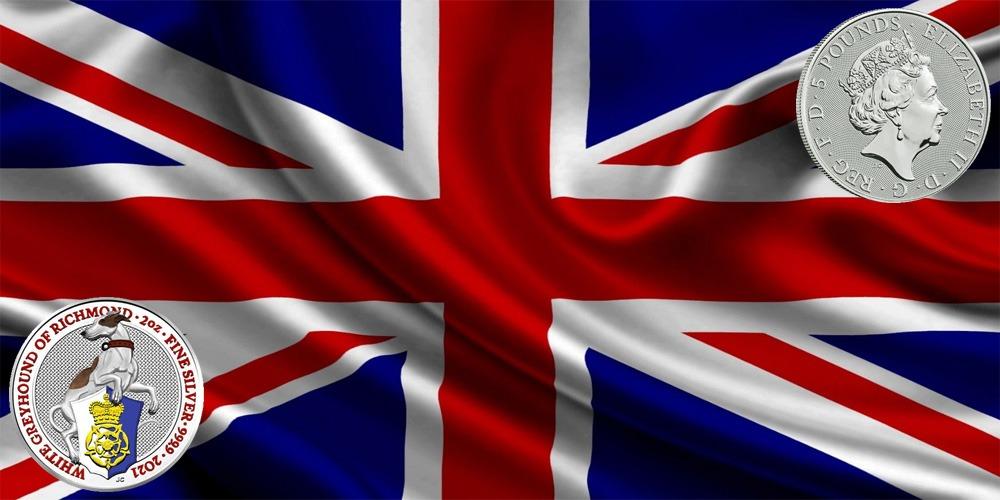 Белая борзая Британия 2021