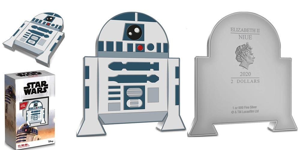 R2-D2 Арт Чиби Ниуэ 2020