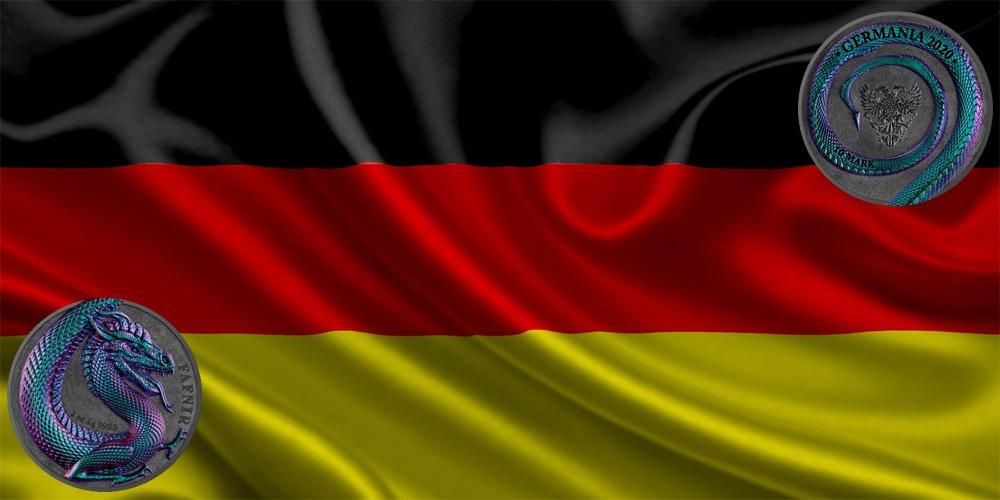 Дракон Фафнир хамелеон Германия 2020