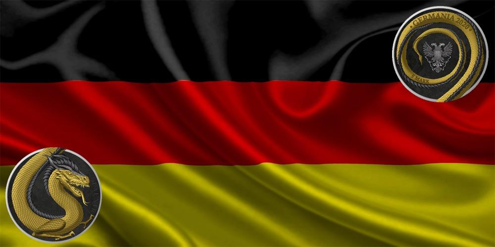 Фафнир золотое покрытие Германия 2020