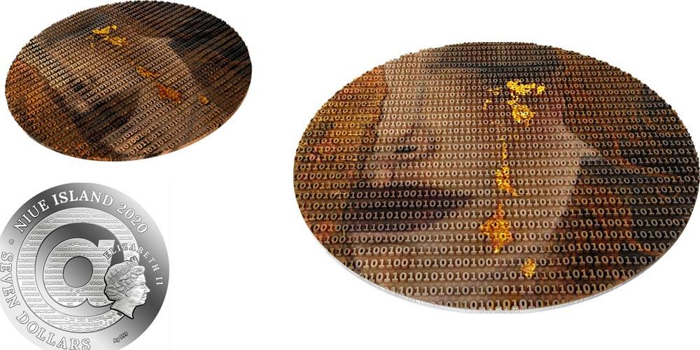 Густав Климт «Золотые слезы» 2020 Ниуэ