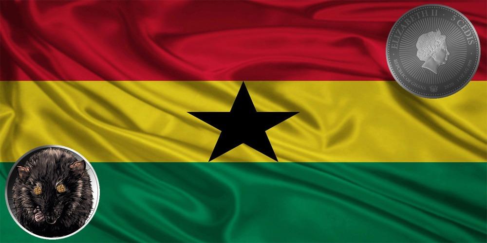 Крыса драгоценные камни Гана 2020