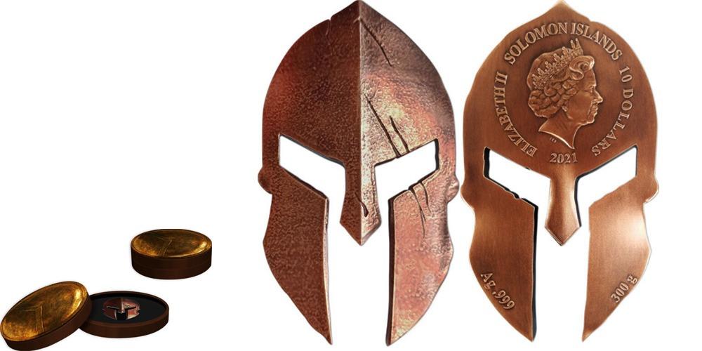 Спартанский шлем Соломоновы острова 2021