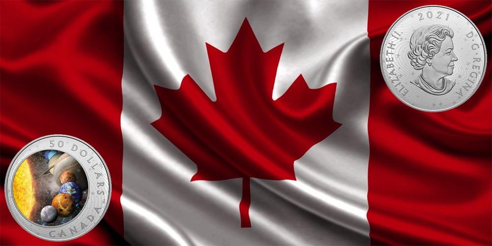 Солнце и солнечная система Канада 2021