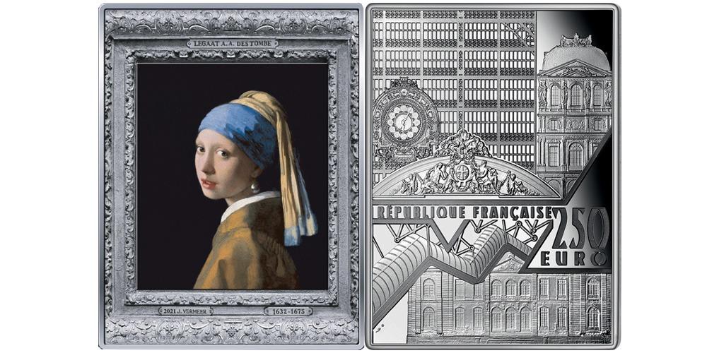 Девушка с жемчужной серёжкой Франция 2021
