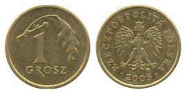 1 грош 2005 Польша