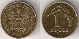 1 грош 2007 Польша