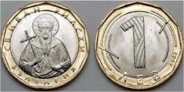 1 лев 2002 Болгария UNC