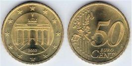 50 евроцентов 2002 «А» Германия