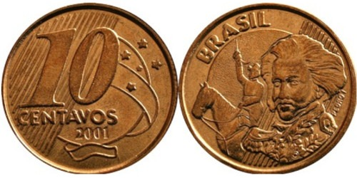 10 сентаво 2001 Бразилия