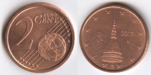 2 евроцента 2012 Италия
