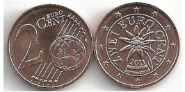 2 евроцента 2011 Австрия