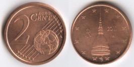 2 евроцента 2011 Италия