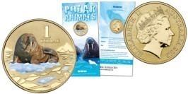 1 доллар 2013 Австралия — Австралийский морж