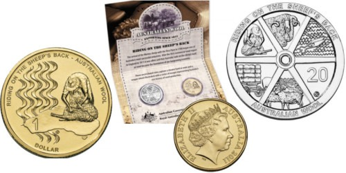 Подарочный набор 2011 Австралия — Австралийская шерсть