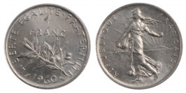1 франк 1960 Франция