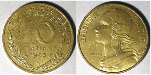 10 сантимов 1983 Франция