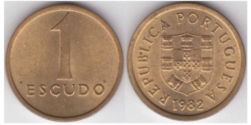 1 эскудо 1982 Португалия